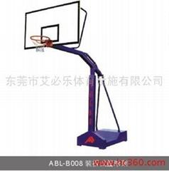 装拆式篮球架