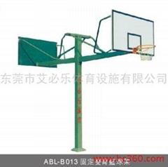固定雙臂籃球架