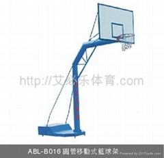 圆管移动式篮球架