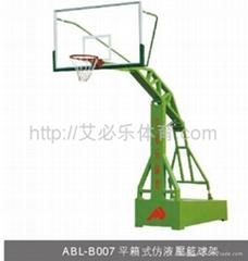 平箱式仿液壓籃球架