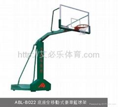 底座全移动式豪华篮球架