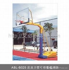 底座方管可移動籃球架