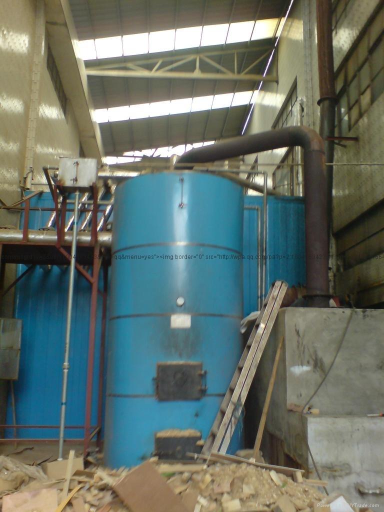 本廠供應1000立方大型烘干熱水鍋爐