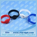 125Khz TK4100 RFID Wristband Tag