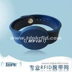 RFID PVC Wristband (Anti Tamper)