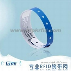 RFID Paper Disposable Wristband (NO.3)