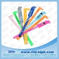 One Off Disposable RFID Wristband Tag