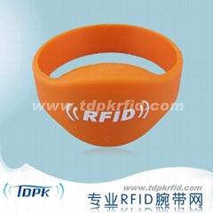 RFID Silicone Wristband Oval Head (Ф45MM)