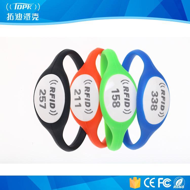 125kHz RFID Wristband, Tk4100 Em4200 Silicon Wristband 1
