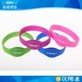 RFID Silicone Wristband / Electronic Identification Bracelet / Waterproof 1