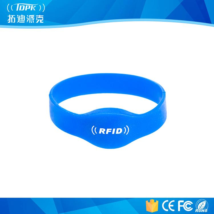 Blue Hf Ultralight Special UHF Silicon RFID Wristband 1