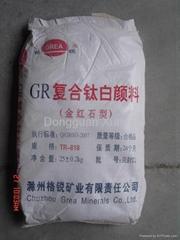 金红石型钛白粉TCR815