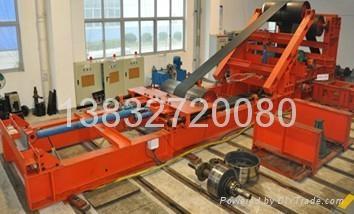 采煤機加載試驗用地槽鐵電機T型槽地基平台 2