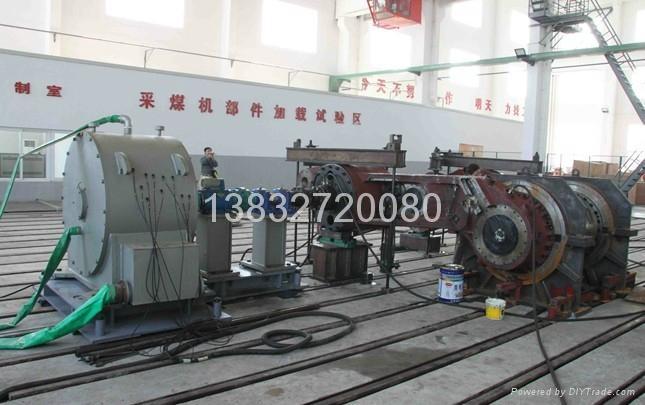 采煤機加載試驗用地槽鐵電機T型槽地基平台 3
