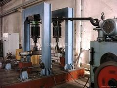 车桥车轴试验台铸铁底座