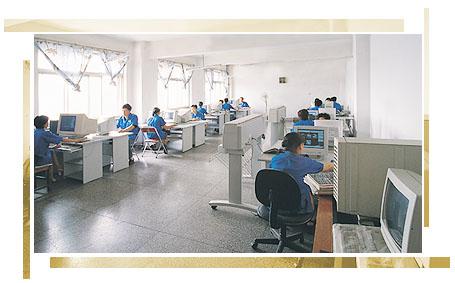 CAD/CAM设计室一角 1