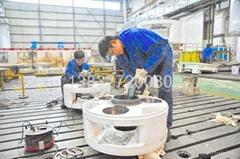 風電增速箱減速箱齒輪箱試驗台鐵地板地軌工作台