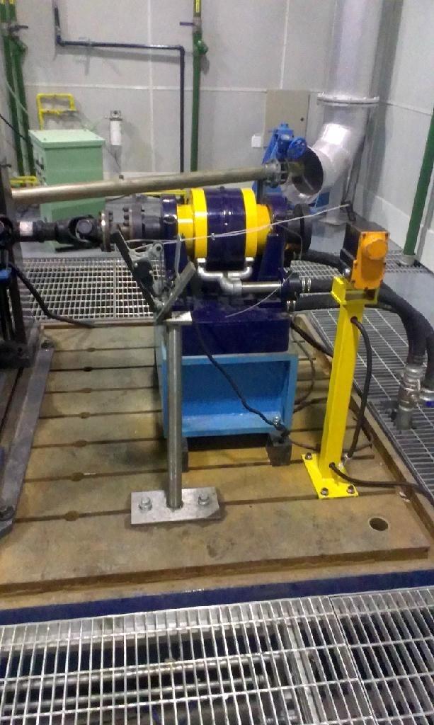 发动机测功机台架铁地板