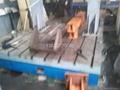 汽车驱动桥试验台机座板 2