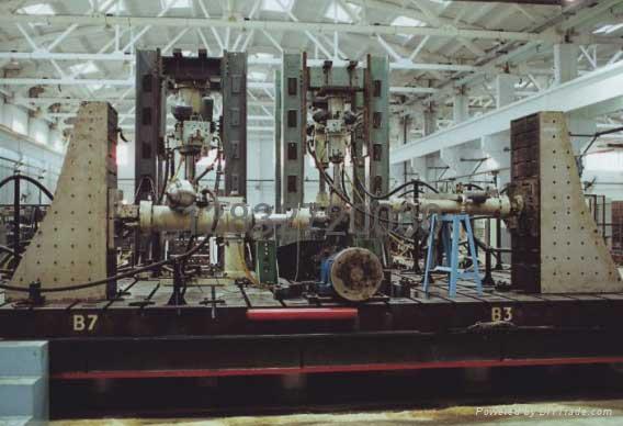 實驗用地基T型槽平台 2