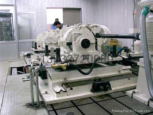 發動機測功器試驗平台 2