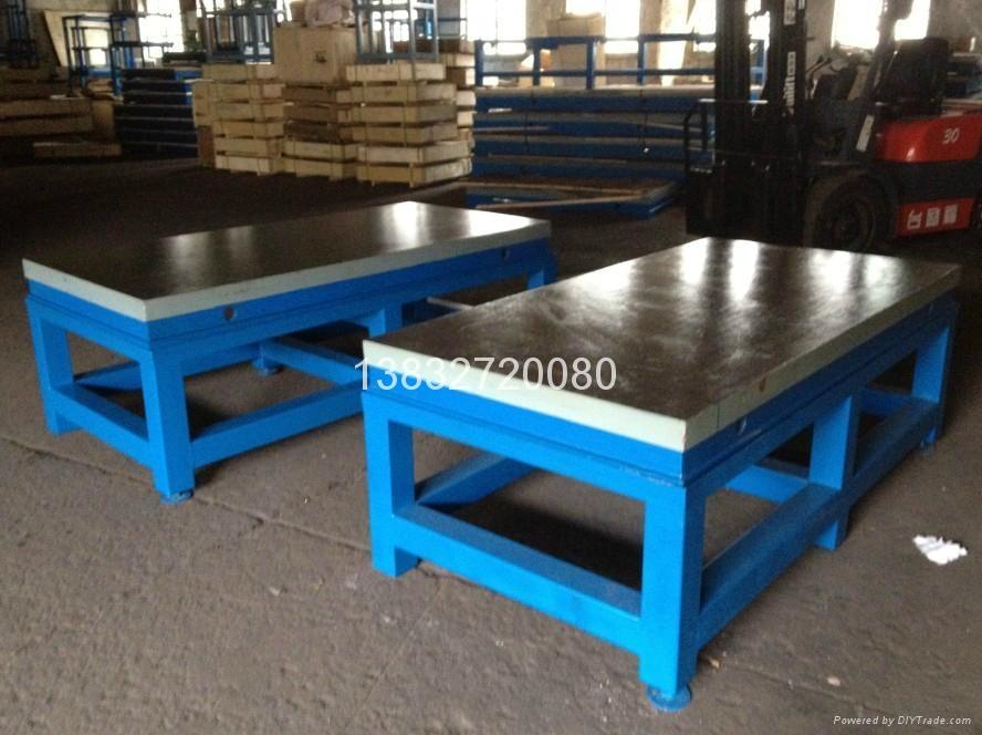 铸铁刮研平板研磨平板 4
