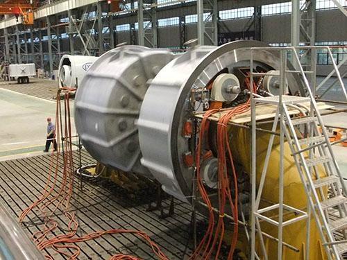 新能源电机风电机组电动汽车试验铁地板 2