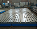 为一汽东机工减震器配套技术中心铸铁地板