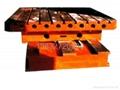 落地鏜銑床后立柱平台