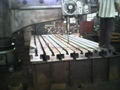 铸铁T型槽地规
