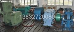 采煤機加載試驗用地槽鐵電機T型槽地基平台