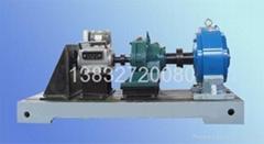 煤矿钻机液压马达扭矩电机测试底座平台