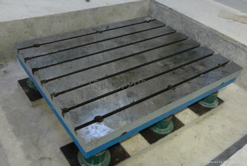 電機柴油機減振試驗鑄鐵平板 2
