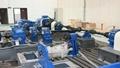 后桥悬架齿轮箱壳体传动疲劳寿命试验台架铁底板