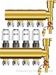 丹麦丹佛斯地暖分水器