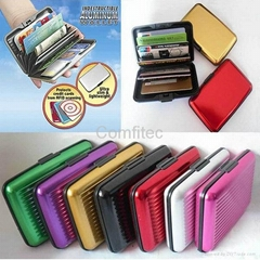 As Seen On Tv Aluma Wallet Aluminum Wallet RFID Card Case Aluminium Pursue
