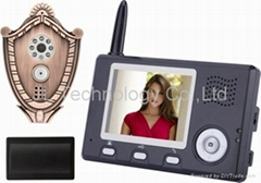 Cheapest 3.5 inch wholesale price wireless video doorphone with peep hole viewer