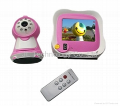3.5 inch long distance wireless baby monitor