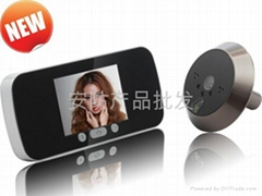 Newest 3 inch hotsale night working memory function door viewer