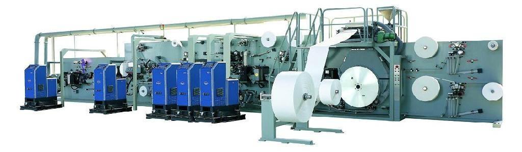 Sanitary Napkin Machine  1