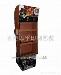 咖啡奶茶茶包紙展示架