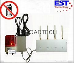 Cell Phone Signal Detector with Alarm
