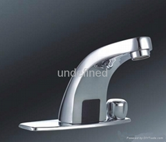 Hot and cold water regulating induction faucet/infrared induction faucet