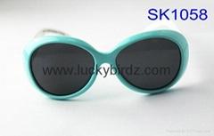 kids boys girls sunglasses elipse floral fashion sun glasses accessories