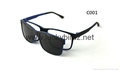 Magnetic Polarized sunglasses prescription optical frames 1