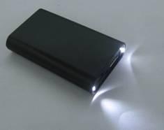 精美小电筒移动电源M1500A