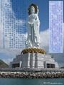 石雕观音菩萨佛像