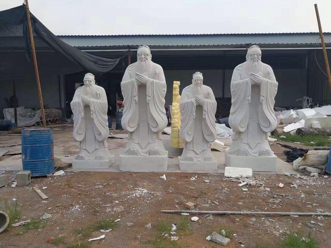石雕孔子像 5