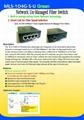 Ethernet Un-Manager Fiber Switch  4port