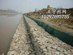 鉛絲石籠網箱擋牆